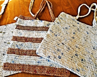 Recycled plastic purse/bags