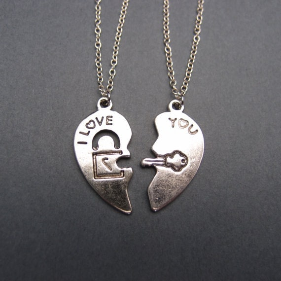 his and hers jewelry matching necklaces for couples friends