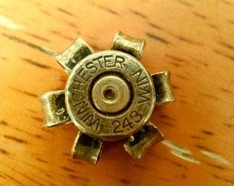 243 Winchester Bullet Flower