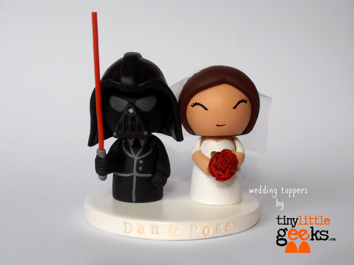 Wedding Cake Topper Star Wars Cake Topper Darth Vader