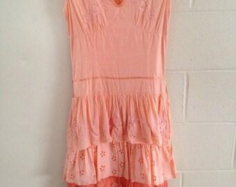 Vintage Prairie / Hippie Dress