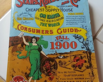 Sears. Roebuck and Co Consumer Guide Fall 1900