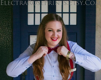 Bowties are Cool / Doctor Who Cosplay Print