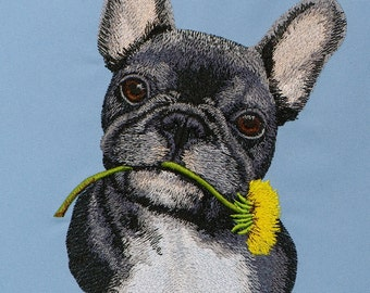 French Bulldog 0001 - machine embroidery designs / Three size