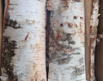 Kiln Dried Split White Birch Firewood
