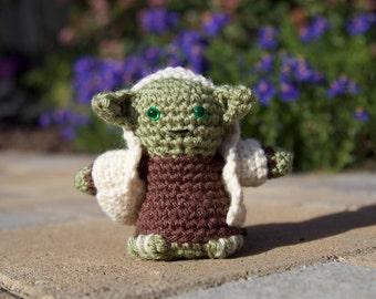 Star Wars Yoda Amigurumi, hand crocheted