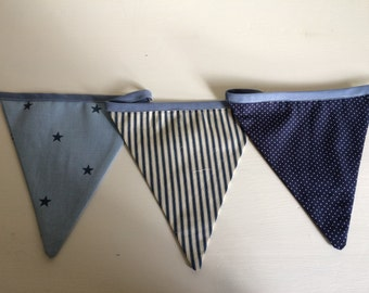 Pink & Blue party bunting