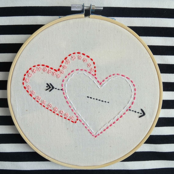 "Hoop-a-loop starter kit with ""Two of Hearts"""