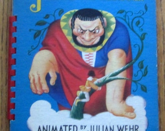 Jack and the Beanstalk 1944 Animated Book by Julian Wehr