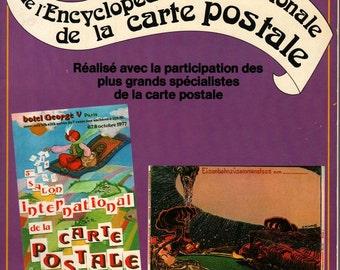 Volume 1 de L'Encyclopedie Internationale de la Carte Postale Post Card Encyclopedia - Annie et Francois Baudet - 1978 - Vintage Book