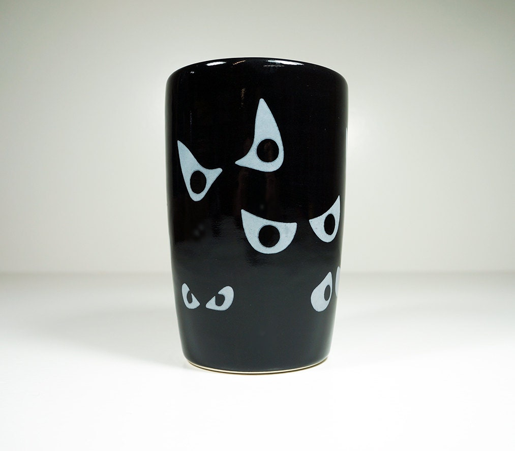 Jeepers Peepers! 18oz tumbler in black. Made to Order.