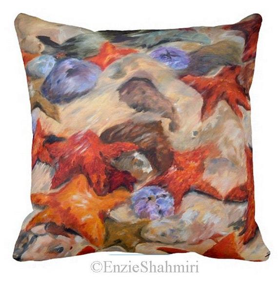 Pillow, Pillow Cover, Starfish Pillow, Sofa Pillow