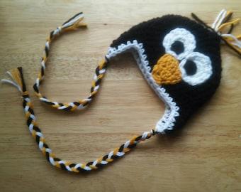 Boutique Crochet Simple Penguin Hat CUSTOM