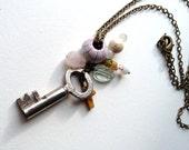 Antique Key Necklace {15}