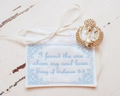 Wedding Dress Label Pocket