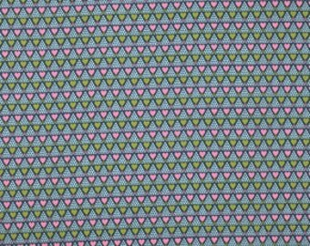 Anna Maria Horner Pretty Potent Family Unit powder grey Print cotton fabric by the yard