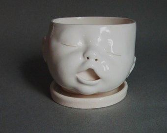 MADE TO ORDER Baby Head Planter