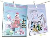 Vintage 1979 Crochet Toy Instruction Booklets