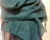 Silky Greener Shawl