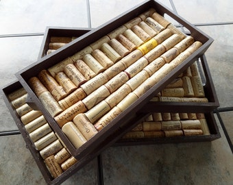Wine Cork Trays