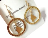 Made in Hawaii - Gold Earrings
