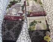 Unique one of a kind Wine Lovers Camera Strap
