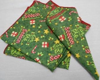 Holiday napkins (set of 6)