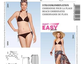 Burda Young Sewing PATTERN - 7048 - Beach Coordinates - Sz 6-16