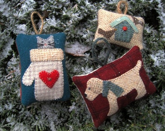 Wool Ornaments Pattern