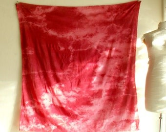 """Scarlet Fever 58"""" x 58"""" Cotton Scarf  2"""