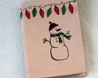 Mini Notebook - SNOWMAN
