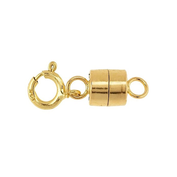 14k gold filled magnetic clasp converter yellow gold filled for Fall into color jewelry walmart