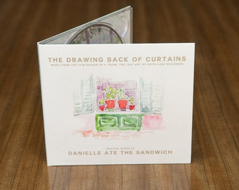 The Drawing Back of Curtains (Album) by Danielle Ate the Sandwich