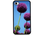 Phone Case - Allium Photo - Hard Case for iPhone 4, 4s, 5, 5s, 5c, 6, 6 Plus - iPod Touch 4, 5 - Galaxy S3, S4, S5