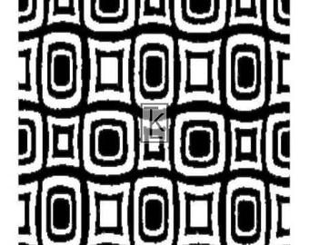 Geometrics clear stamp