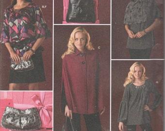 Cape Capelet Bag Purse Tunic Plus 14 16 18 20 22 UNCUT Sew Womans
