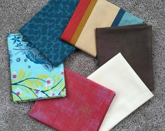 Fabric Destash no. 102, 103 -- 6 Fat Quarters