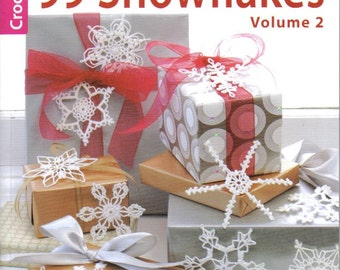 99 Snowflakes Crochet Book  ~  Volume 2