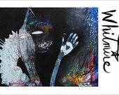 Manifesting Abundance -Abundance and Creation- Mixed Media Art Print