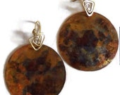 Boho Copper earings.