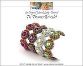 eTUTORIAL Tri Flowers Bracelet