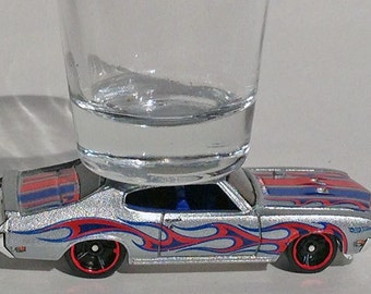 The ORIGINAL Hot Shot, Shot Glass, Buick GSX, Classic Hot Rods, Silver, Hot Wheels