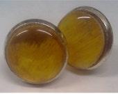 Simple Sunny Yellow Stud earrings