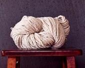 Merino Super Buiky Single Yarn 150 yards merino wool waldorf doll hair knitting supplies - Stonington HAZE