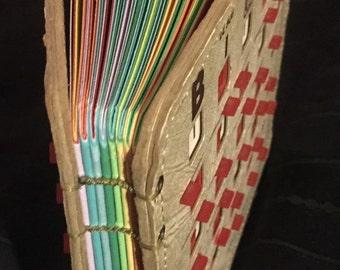 Vintage Bingo King EZ-PLAY Bingo Book (Small Taupe/colored Paper) (1)