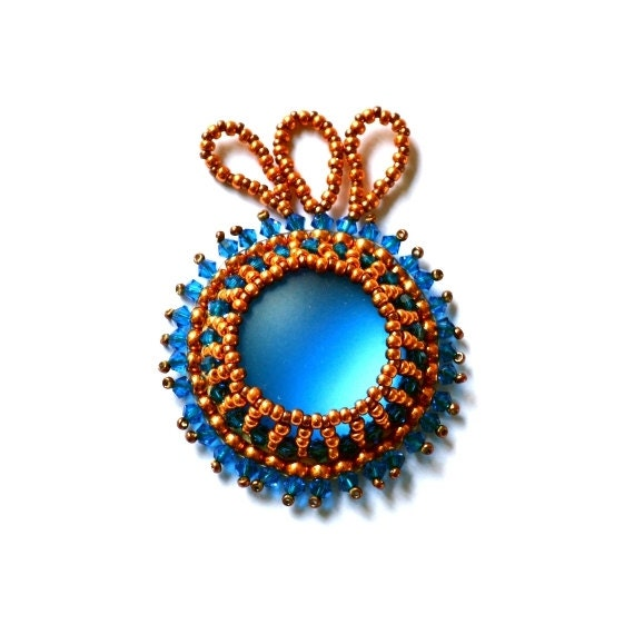 Beading pattern tutorial for seed beadweaving