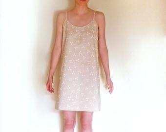 Romantic Cotton Nightgown  Slip