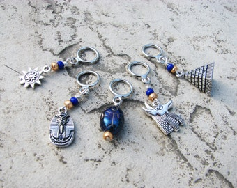 Ancient Egypt Non-Snag Stitch Markers