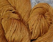 "MYS 622 Yarn ""Honey "" -superwash merino,yak, silk yarn - 100 grams 400 yards"
