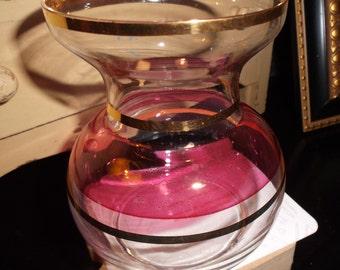Vintage Glass Miniature Flower Vase